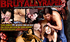 brutally raped